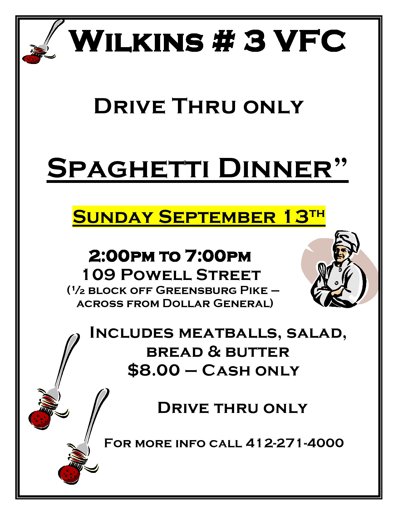 Spaghetti Dinner sign 2020 page0001